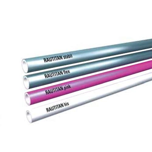 Трубы RAUTITAN Stabil, Flex, Pink, His